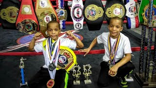 Grandy twins 9 Year Old boxing PHENOMS | Youth Boxing