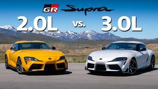 Supra Vs Supra - 2.0L vs 3.0L - Which is Better? | Everyday Driver