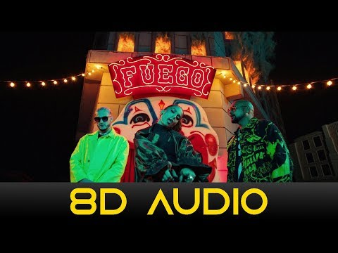 DJ Snake, Sean Paul, Anitta - Fuego ft. Tainy (8D Audio)