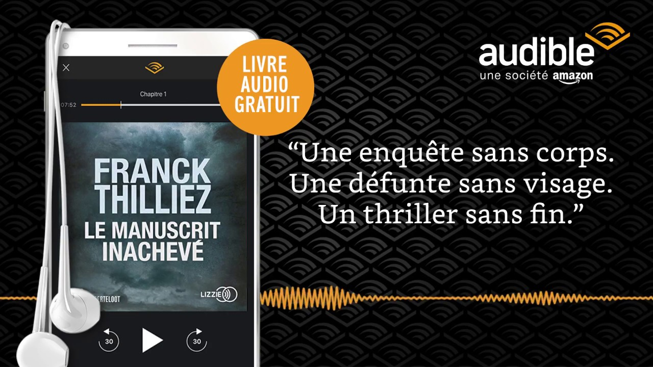 Le Manuscrit Inacheve Sur Audible Livre Audio
