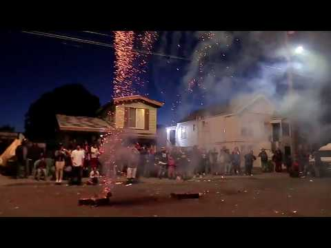 Rich City Cente Fireworks Show