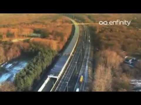 Solar Tunnel in Belgium