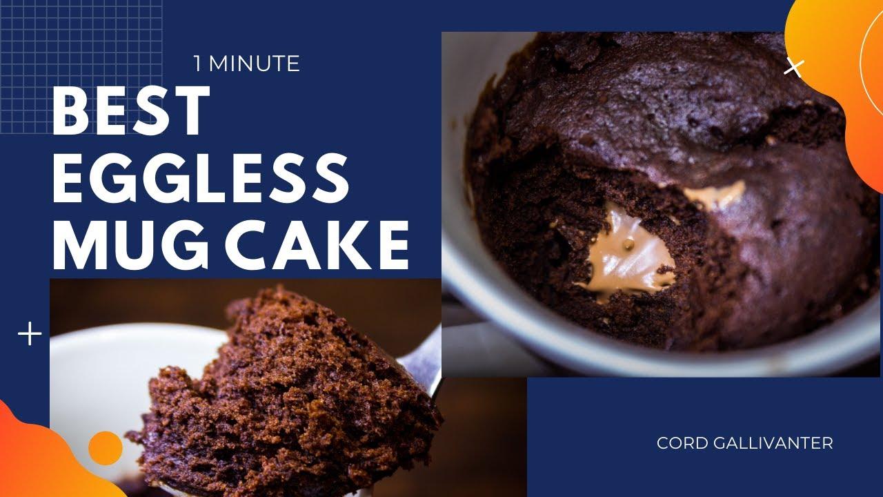 Best Chocolate Mug Cake in 1 minute- Eggless ...