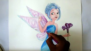 how to draw fairy periwinkle