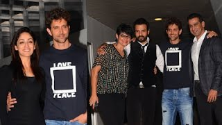 Hrithik Roshan's Birthday Celebrations With Family And Kaabil Cast