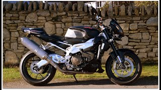 (NOW SOLD) FOR SALE £4,995 Aprilia Tuono 1000R with ONLY 2,350 miles from new!  FANTASTIC EXAMPLE