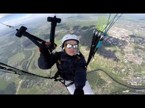 Унесло на параплане на 66км! | My First XC Flight