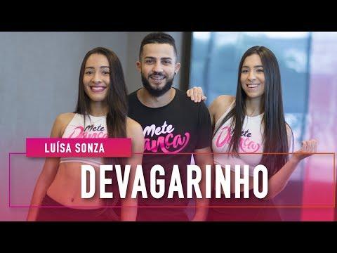 Luísa Sonza - Devagarinho - Coreografia: Mete Dança  4k