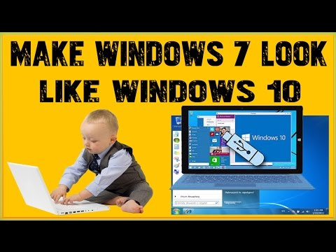 How To Make Windows 7 Look Like Windows 10 Using Windows 10 Transformation  Pack To Experience The Lo