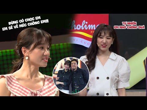 Làm gì có ai mê chồng như Hari Won, đi gameshow nào cũng nhớ tới Trấn Thành