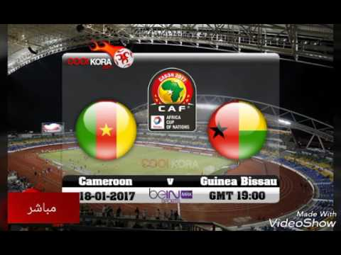 مباشر - مباراة الكاميرون و غينيا بساو - كأس امم افريقيا -Cameroon, Guinea-Bissau