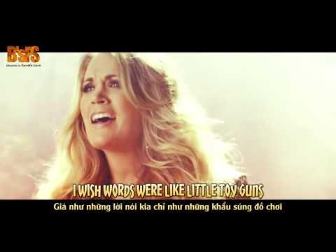 [Lyrics+Vietsub] Carrie Underwood - Little Toy Guns