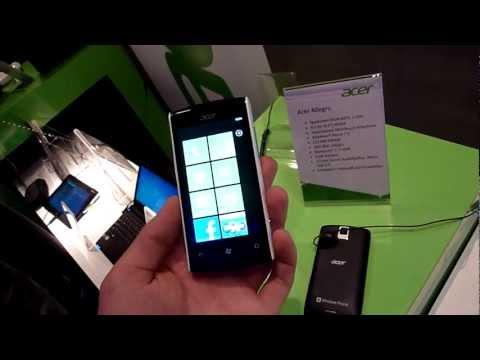 Acer Allegro Smartphone Hands On
