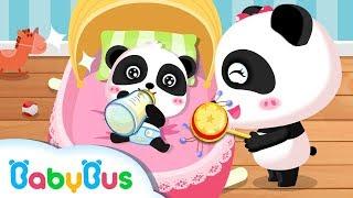 Miumiu panda chăm sóc em bé   Hoạt hình - ca nhạc thiếu nhi vui vui nhộn   BabyBus