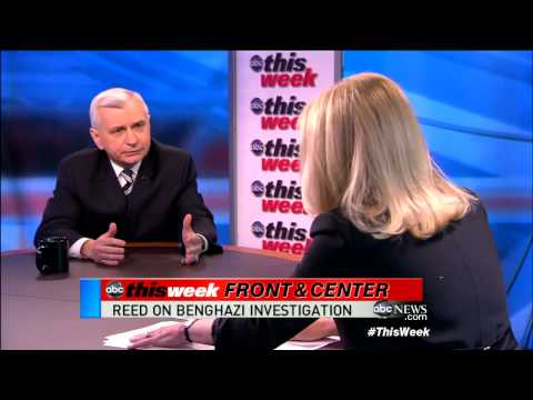 Jack Reed `This Week` Interview: Obama Administration, Benghazi `Not the Politics of Electioneer