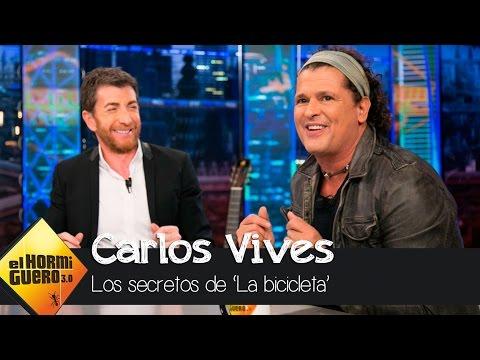 Shakira, la salvación de Carlos Vives para titular La bicicleta  El Hormiguero 30