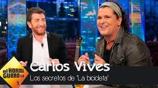 Shakira, la salvación de Carlos Vives para titular 'La bicicleta' - El Hormiguero 3.0