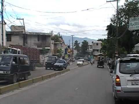 Walking down Delmas, Petionville, Haiti