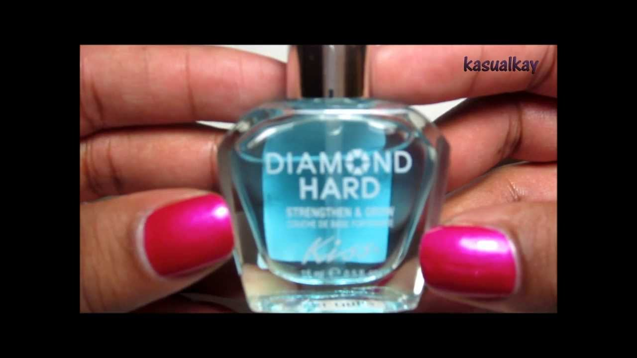 Review & Demo Kiss Maximum Nail Strengthener - YouTube
