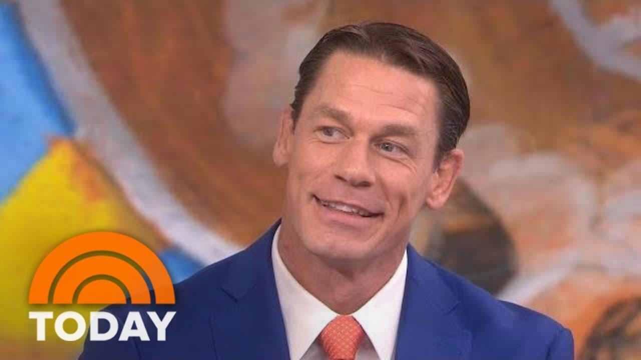John Cena Explains New Haircut Talks Children S Book Elbow Grease Today