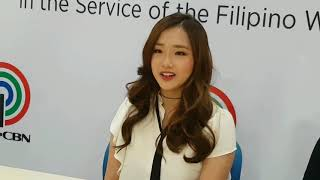 Baixar K-POP Kriesha Chu Signed Contract w/ Star Music, 'Di Daw Sya Takot Na Maikumpara sa Momoland Girls!