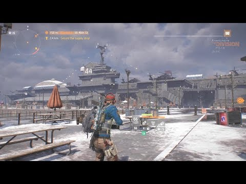 The Division update 1.8 PTS - New safe house, New map, aircraft carrier, How to get to New area