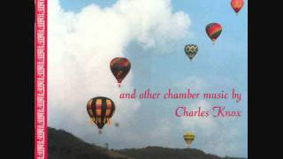"""CHARLES KNOX: """"Music for Brass Quintet and Piano (1983)"""
