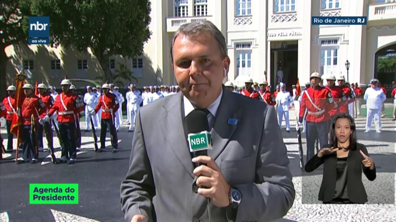Presidente Jair Bolsonaro participa do aniversário dos fuzileiros navais