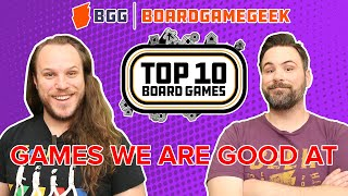 Top 10 Games We're Good At - BoardGameGeek Top 10 w/ The Brothers Murph