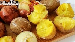 Düdüklü Tencerede Tuzda Soğan Patates