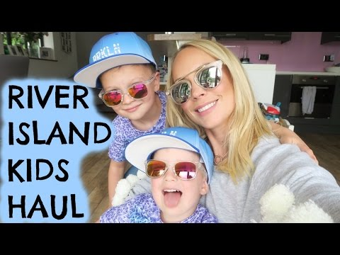 Thumbnail: BOYS RIVER ISLAND HAUL & TRY ON WITH CHANNEL MUM