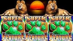 Sunset King Slot Machine SUPER FEATURE & BIG WIN | Riches Drop Plop Plop Peach Slot Max Bet Bonuses