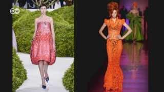 Мереживо на подіумі(Ірене Луфт створює ексклюзивні сукні особливого штибу: головним елементом завжди є мереживо. Воно робить..., 2013-09-10T08:52:56.000Z)