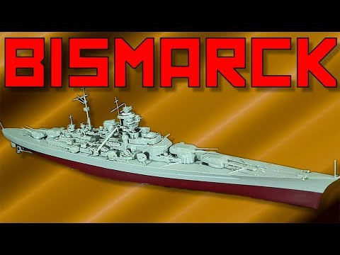 Trumpeter Battleship Bismarck [1:700]