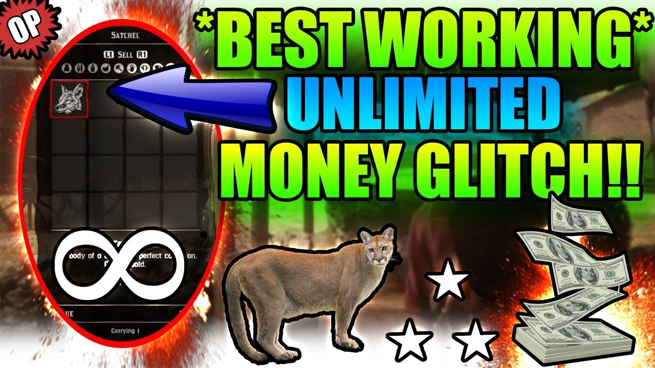 *BEST WORKING* COOP UNLIMITED MONEY GLITCH ON RED DEAD REDEMPTION 2!!(RED  DEAD GLITCHES)