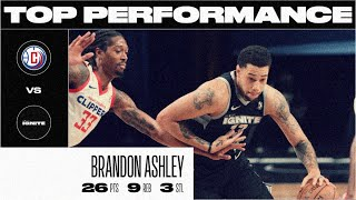 Brandon Ashley Drops a Season-High 26 PTS (March 3)