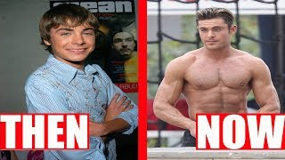 Disney Channel Famous Stars Then and Now