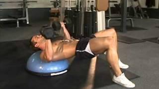 Jud Dean - Bosu Ball Dumbbell Chest Press (Bodybuilding)