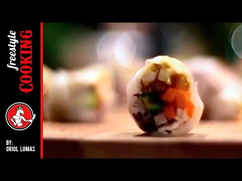 Fresh Rolls – Freestyle Cooking by Oriol Lomas