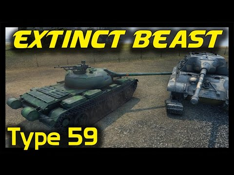 ► World of Tanks Extinct Premium Beast - Legendary Type 59 Premium Tank Gameplay