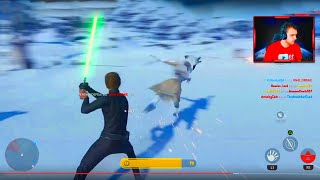 STAR WARS BATTLEFRONT - LUKE SKYWALKER EARLY BETA GAMEPLAY! (PS4 HD Gameplay)