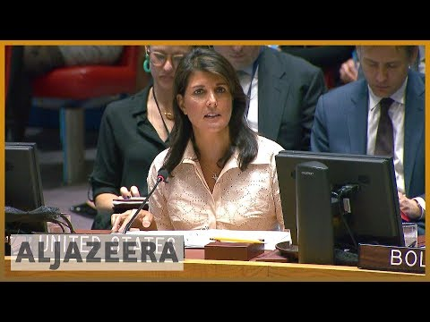 🇺🇳 Haley to UN: Israel acted 'with restraint' in deadly Gaza clashes | Al Jazeera English