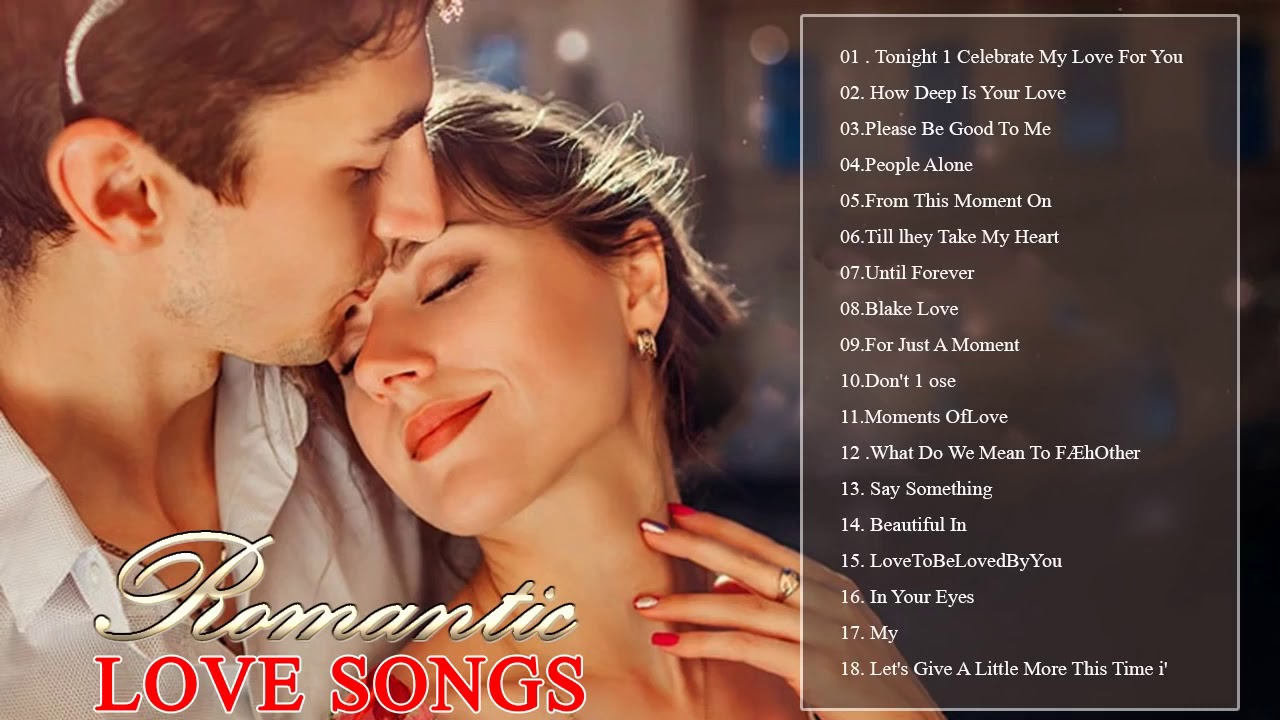 Best 100 English Love Songs Romantic Songs - Top 30 Old