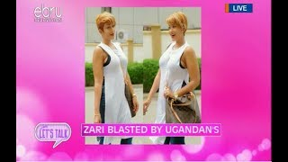 Zari Blasted By Ugandans For Posting Museveni