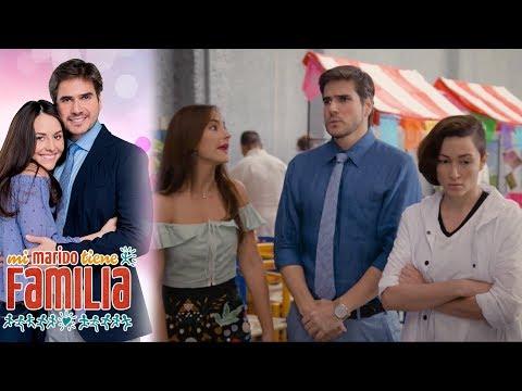 Linda y Daniela inventan chismes contra Julieta | Mi marido tiene familia - Televisa