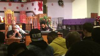 Cory Henry Plays Organ and Sings at Organ Clinic in Bridgeport, CT