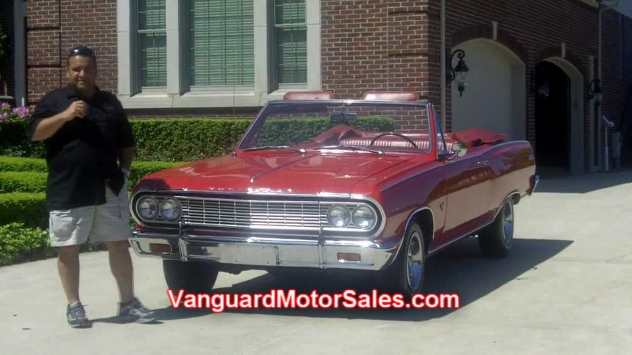 1964 Chevy Malibu SS Convertible Classic Muscle Car for Sale in MI ...