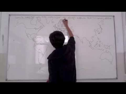 Drawing by heart the world map with every country inside youtube drawing by heart the world map with every country inside gumiabroncs Image collections
