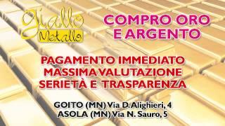 spot GIALLO METALLO - 10s by  MP Quadro Srl