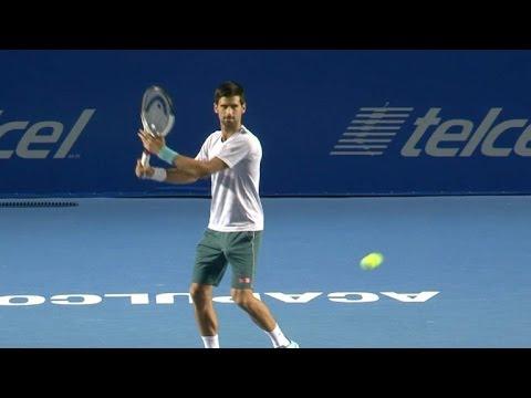Djokovic y Nadal dan brillo al Abierto Mexicano de Tenis